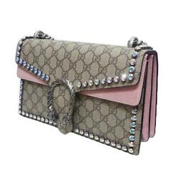 Gucci 2017 AW Dionysos GG Crystal Shoulder bag limited item from Japan
