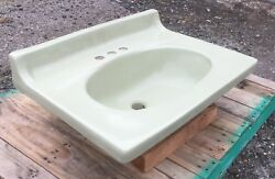 Vintage 1976 Sears Cabinet-mount Sink In Bayberry