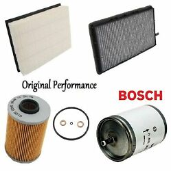 Tune Up Kit Cabin Air Oil Fuel Filters Fit Bmw 325i M50tu Eng. E36 1993
