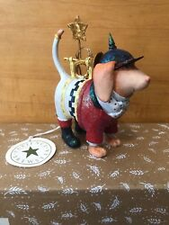 Patience Brewster *Krinkles* Bugler Beagle Dog Christmas Ornament (NOT A MINI)