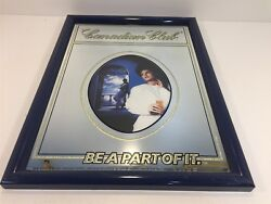 Vintage Canadian Club - Be A Part Of It - Wall Mirror Advertising 19.5x14