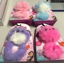 Pomsies Kids Toys Set Of 4 Zoey Sydney Blossom And Lulu Hot Christmas