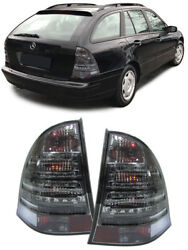 All Smoked Led Tail Lights Mercedes C Class W203 S203 Station Wagon Estate Gift