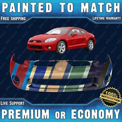 Painted To Match Front Bumper Replacement for 2006 2007 2008 Mitsubishi Eclipse