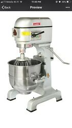 Wuxi 3 Speed Commercial Planetary 20 Qt Stand Dough Mixer 220v 3 Phase Powerful