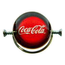 Amazing Walter Schluep Coca-cola Sterling Silver Ring Rare And Collectible