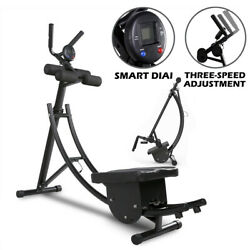 Abs Abdominal Exercise Machine Crunch Coaster Body Muscle Fitness Workout New