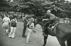 Garry Winogrand Women Are Beautiful C. 1970 / Silver Print / Signed / Gw60