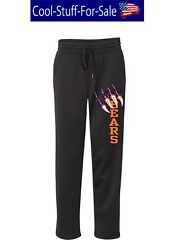 Chicago Bears Scratch Football Unisex Performance Sweatpants with Pockets