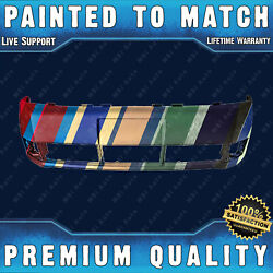 New Painted To Match - Front Bumper For 2008-2011 Ford Focus Sedan/coupe 08-11
