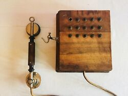 Antique  Vintage Phone Switchboard