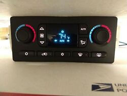 GM 10367041 03-06 Chevy Silverado Digital Climate Heater Control Display 1210s6