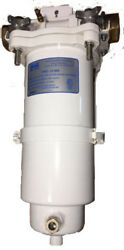 Parker / Racor Fuel Water Seperator Fbo-14-ma With Replacement Elements