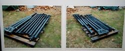 Us Military Surplus 18x36 Mgpts Pole Set Only.. No Tent .. Hunting Camping Army
