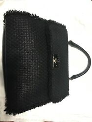 Sold Out And Only One Kate Spade Black Tweed Bag