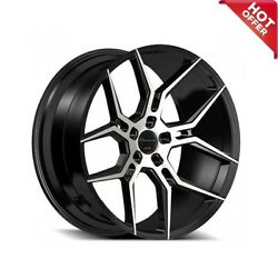 For 7 Series 22 Staggered Giovanna Wheels Haleb Black Machined Popular Rims