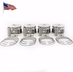 Piston And Ring Assembly Kit For Vw Audi A3 Tt Tts Ccta Cctb Ccza