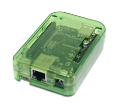 sb components NEW! Case for BeagleBone Black Transparent GREEN assemble in 30 by
