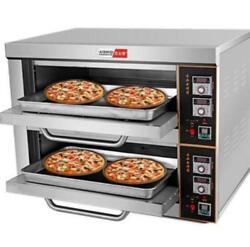 220v/6kw Commercial Electric Baking Oven Professional Pizza Cake Bread Oven Newu