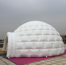 26' 8m Promotional Inflatables Event Signs Giant Igloo Dome Free Logo U