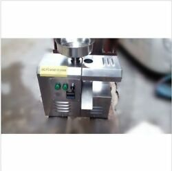 Automatic Commercial Cold Oil Screw Press Seed Press Machine Stainless Steel