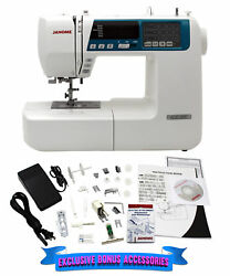 Janome 4120qdc-b Computerized Quilting And Sewing Machine W/ Bonus Quilt Kit