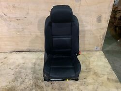 Bmw E70 X5 Front Right Passenger Seat Sport Leather Heat Black Assembly Oem 78k
