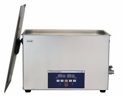 28l High Capacity Ultrasound Cleaner Stainless Steel 480w Dental Lab Dr-lq280