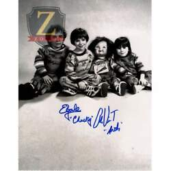 Alex Vincent And Ed Gale Signed 11x14 Photo Childs Play Autograph Coa Z1