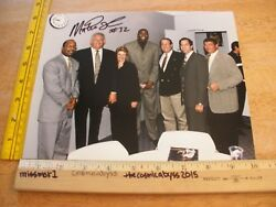 Magic Johnson Los Angeles Lakers Forum Club Signed Photo W/ Vips 1980s-90s