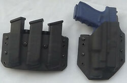 Fits A Glock 17/22 Gen 4 Holster/magazine Pouch Combo