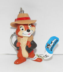 Chip Keychain From Chip And Dale Figurine 2 Inch Plastic Figure Key Chain Cadd3
