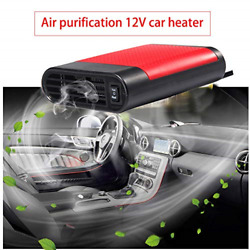 LTUPWF Portable Car Heater Fan Defroster with Air Purification 12V 150W Auto Car