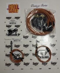 Tan Vintage Spark Plug Wire 350 Transmission Kick-down And Throttle Cable Kit