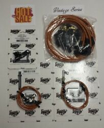 Tan Vintage Spark Plug Wire, 350 Transmission Kick-down And Throttle Cable Kit