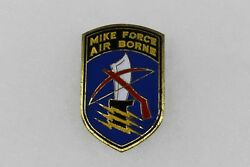 Us Vietnam Airborne Special Forces Mike Force Beer Can Di Pin Clutch Back M195