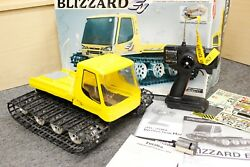 Kyosho Blizzard EV Radio Controlled Electric Belt Vehicle Rare FOR PARTS REPAIR
