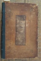 Very Nice Edition Of The Sacred Theory Of The Earth - 1697 Wood And Leather Boards