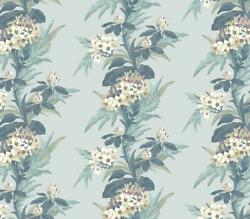 1804-116-03 - Aurora Floral Teal 1838 Wallpaper