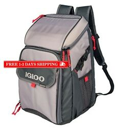 Outdoors Backpack Cooler Food Storage Lunch Box Work Bag Hiking Camping Picnic