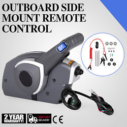 Outboard Side Mount Remote Control Box Motor Control Boat  479 Cables