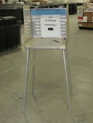 LOT OF 5000 ALUMINUM CASES WITH LEGS AND LIGHT NOT SCRAP