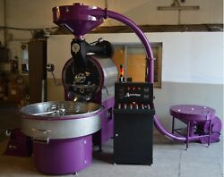 30 Kilo 66lb OZTURK Commercial Coffee Roaster New with loader
