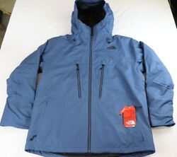 MENS THE NORT FACE THERMOBALL SNOW TRI-CLIMATE BLUE XXLNEW WITH TAGS