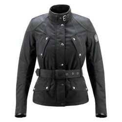 Belstaff Jacket Ladies Ginger Hall Limited Edition Black Size 10 BNWT RRP £595
