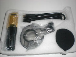 BM-800 Black Condenser Pro Audio Microphone Studio Dynamic Mic+Shock Mount