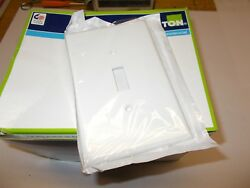 Leviton 88101 White Oversized Switch Wall Plate Contractors Pack 25 Covers NIB