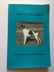 Vintage Dog Book The Toy Fox Terrier - History Obedience Training