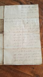 Antique English Hand Written Land Indenture/skinners Co. - 16 March 1820/signed