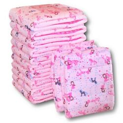 Rearz - Princess Pink - Adult Diaper 12 Pack Medium 32and039and039 - 42and039and039 Medium
